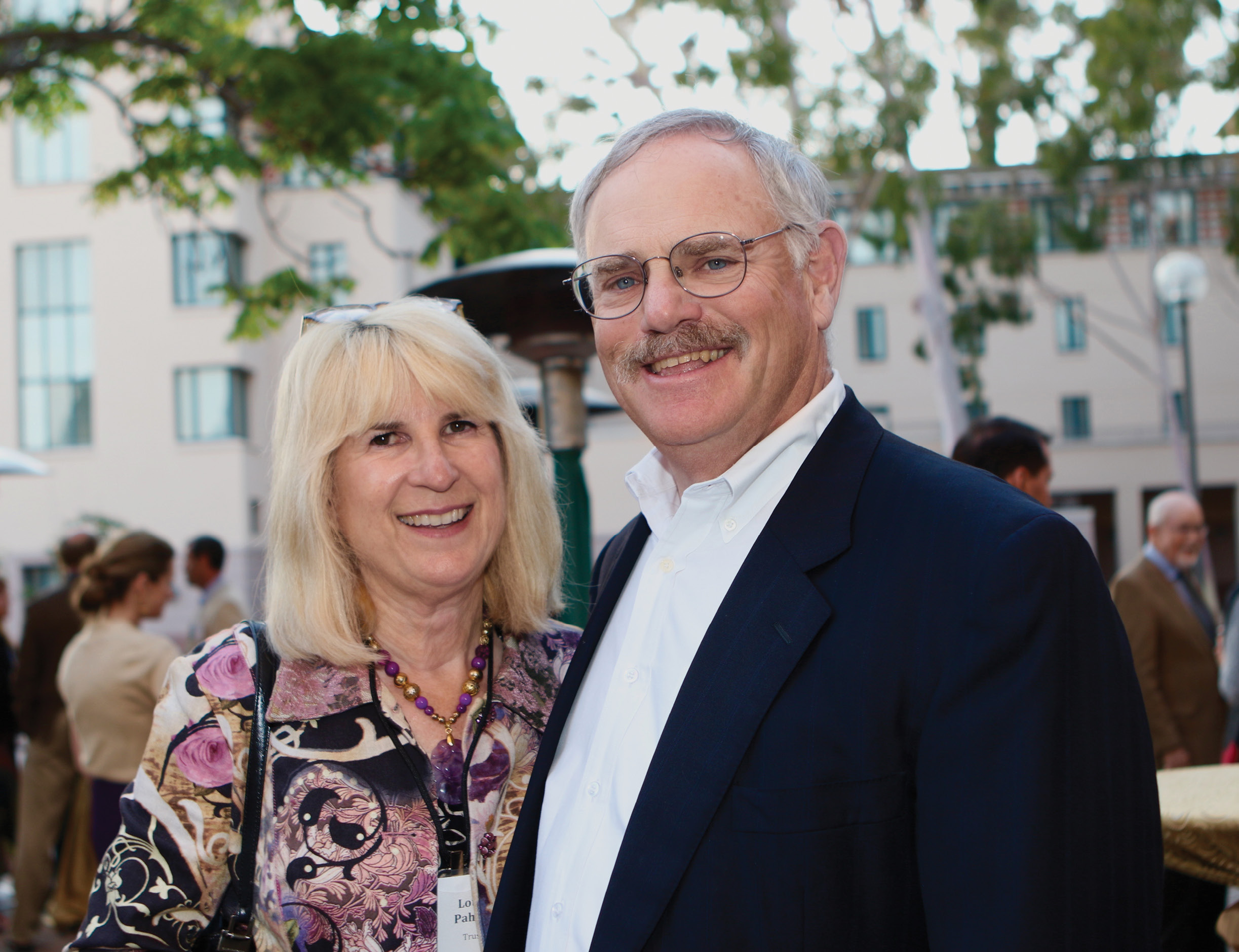 Louise '77 and Stephen D. '77 Pahl