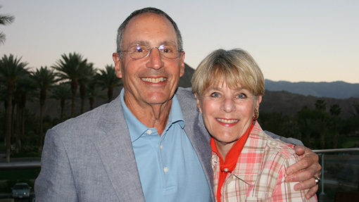 Trustee Steve '63 and Barbara Mendell