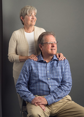 Philanthropists Mark and Susan Bertelsen