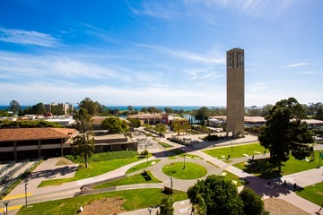 UCSB Campus and Storke Tower