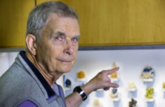 William Wise, an earth science professor emeritus at UCSB