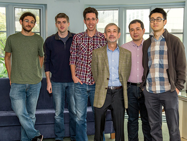 Carl Feinberg and KITP Students