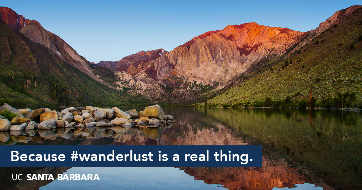 Because #wanderlust is a real thing.