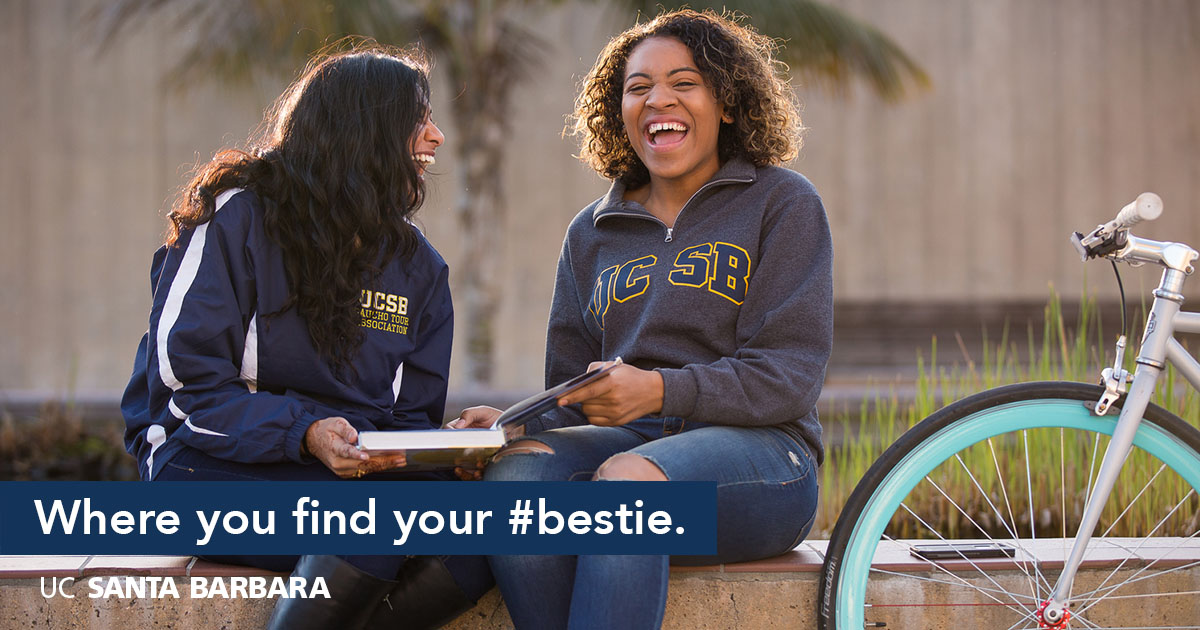 Where you find your #bestie.