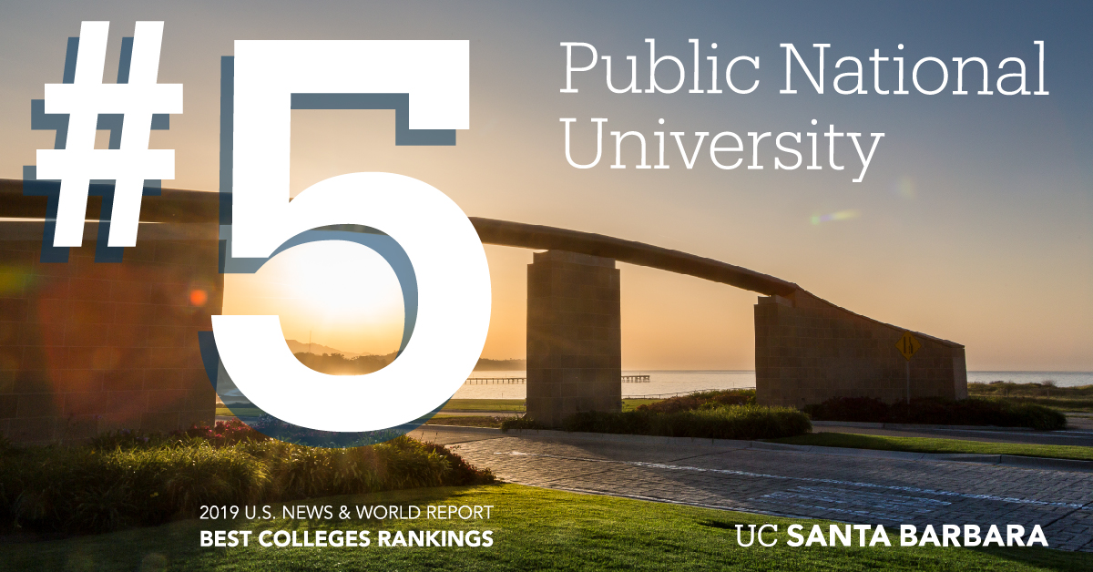 #5 public national university on the 2019 U.S. News and World Report listing ('Top 30 Public National Universities')